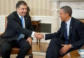 Mikheil Saakashvili-Obama