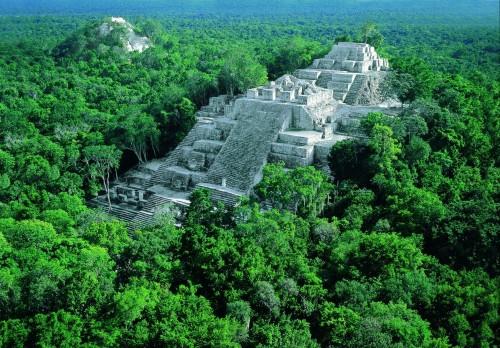 Calakmul, Messico